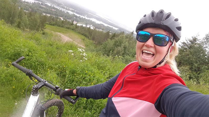 maastopyöräily harjoitus
