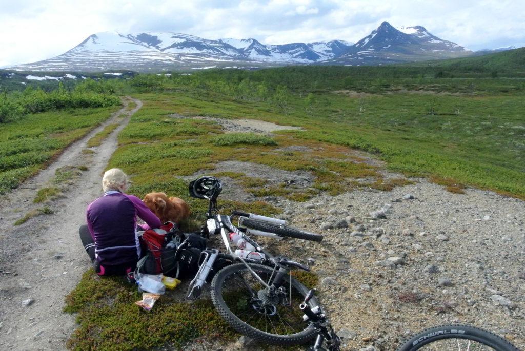 maastopyöräily vaelluskohteet Lapissa