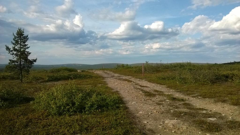 Maastopyörävaellus Saariselkä