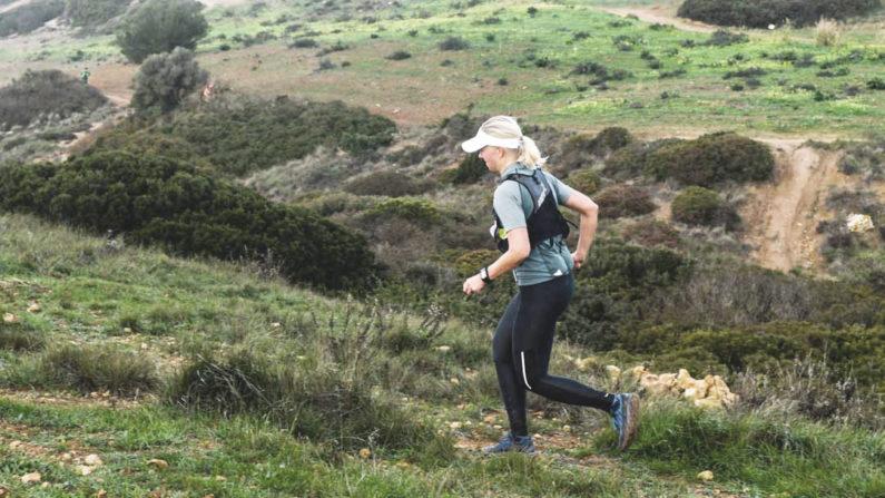 polkujuoksukilpailu harjoituksena